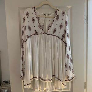 Free people tunic - worn once